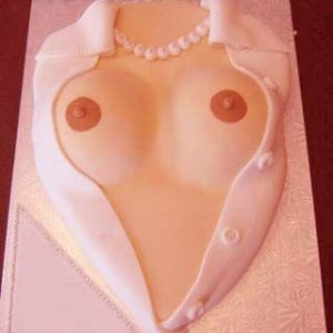 Erotic feeling Boobs as Thats personal cake wide open coming out of Girl's blouse