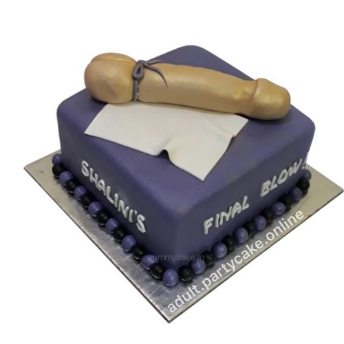 Lying Dick Mind Blowing cake giving feel to girls to eat him while he is still hard for her, an adult cake of perfection for her desires