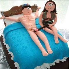 Adult Naughty Couple Cakes