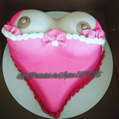 Horny Boys Tits Cake fro male party