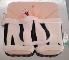 His Private Thing Cake