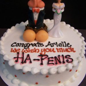 Penile Happiness Cake for Her