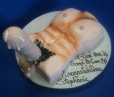 Bachelorette Girls Party Blow Job Cake